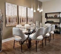 Lovely dining room tiles design ideas 06