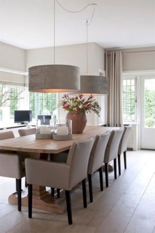 Lovely dining room tiles design ideas 34