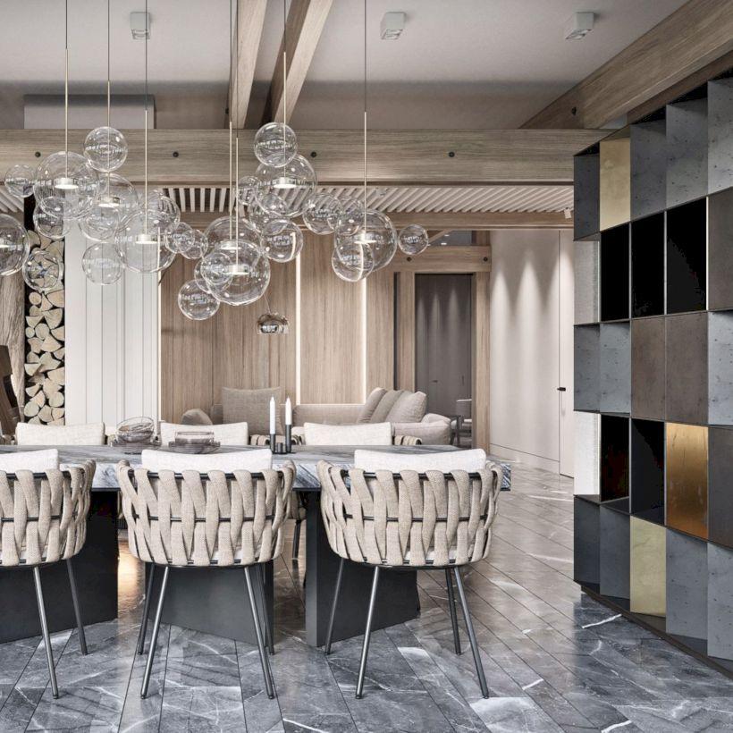 Lovely dining room tiles design ideas 40