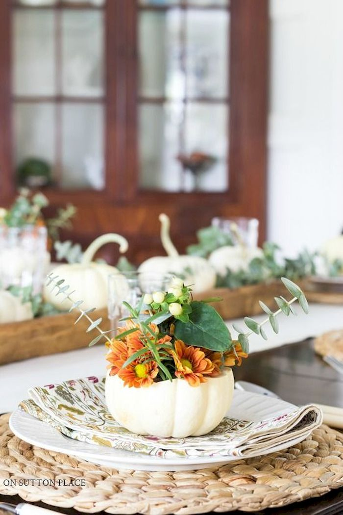 Modern diy thanksgiving decorations ideas for home 04