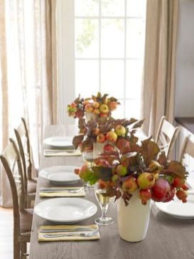 Modern diy thanksgiving decorations ideas for home 26