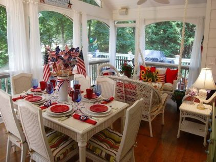Newest 4th of july table decorations ideas 04