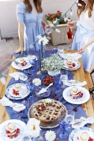 Newest 4th of july table decorations ideas 06