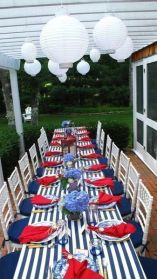 Newest 4th of july table decorations ideas 11