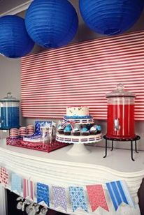 Newest 4th of july table decorations ideas 12