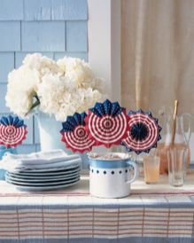 Newest 4th of july table decorations ideas 18