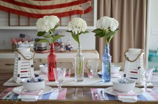 Newest 4th of july table decorations ideas 19