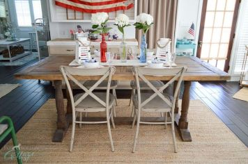 Newest 4th of july table decorations ideas 25