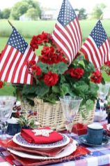 Newest 4th of july table decorations ideas 26