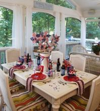 Newest 4th of july table decorations ideas 29