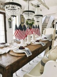 Newest 4th of july table decorations ideas 33