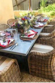 Newest 4th of july table decorations ideas 34
