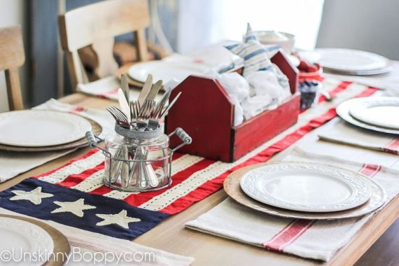 Newest 4th of july table decorations ideas 38