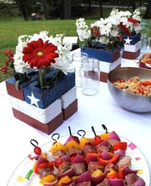 Newest 4th of july table decorations ideas 39
