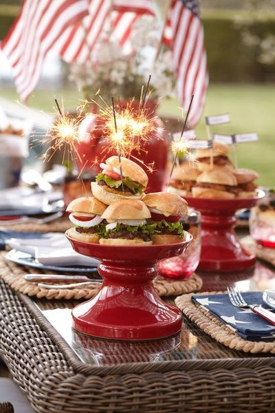 Newest 4th of july table decorations ideas 41