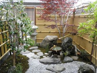 Outstanding japanese garden designs ideas for small space 13