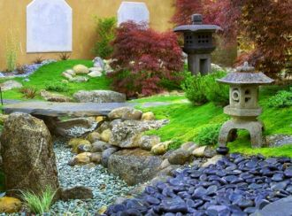 Outstanding japanese garden designs ideas for small space 22