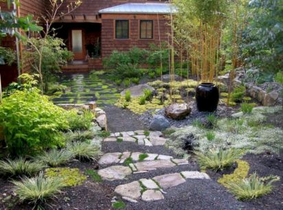 Outstanding japanese garden designs ideas for small space 24