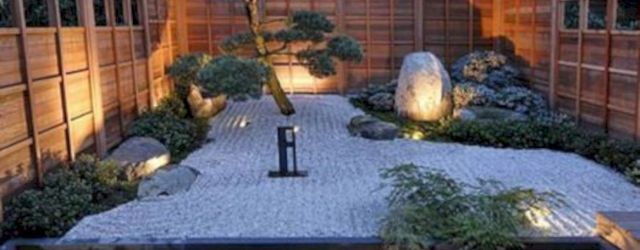 Outstanding japanese garden designs ideas for small space 36