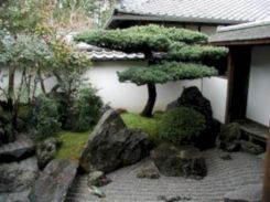 Outstanding japanese garden designs ideas for small space 38