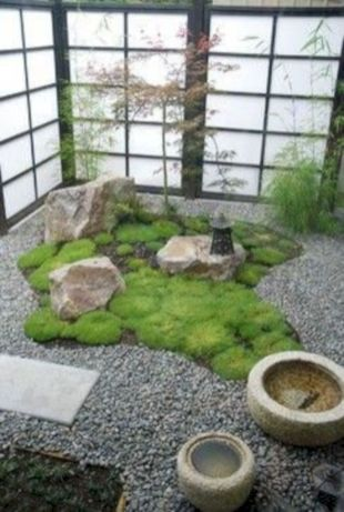 Outstanding japanese garden designs ideas for small space 40