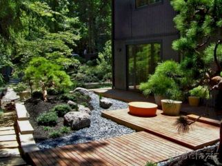 Outstanding japanese garden designs ideas for small space 41