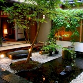 Outstanding japanese garden designs ideas for small space 43
