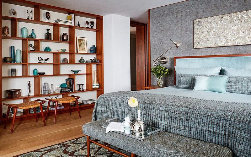 Stunning eclectic collector bedroom ideas 39