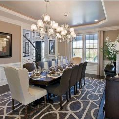 Stylish dining room design ideas 10