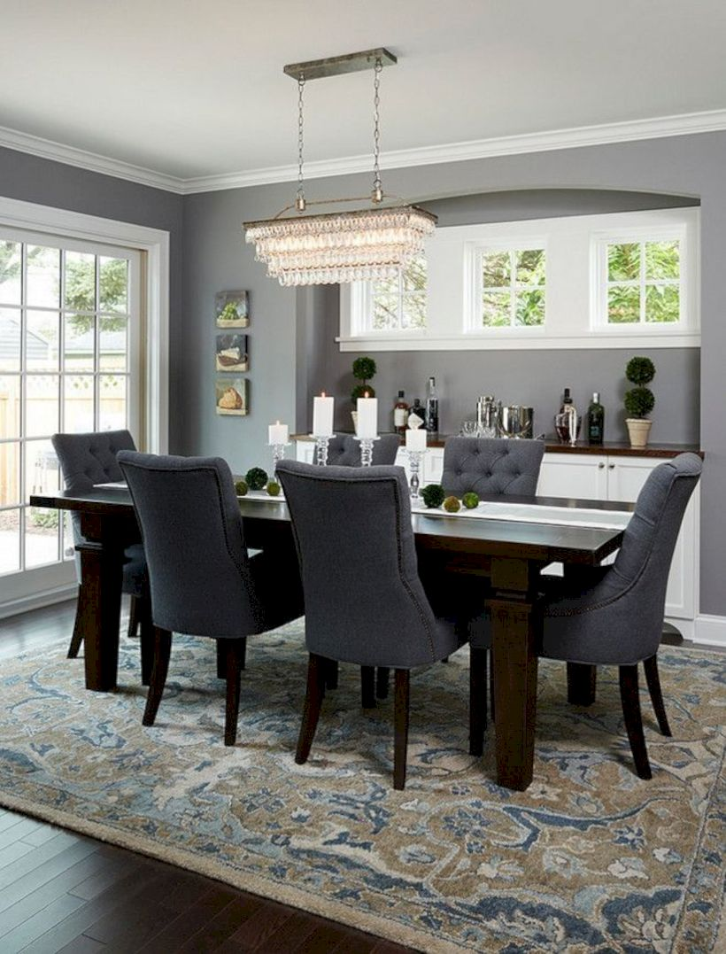 Stylish dining room design ideas 18