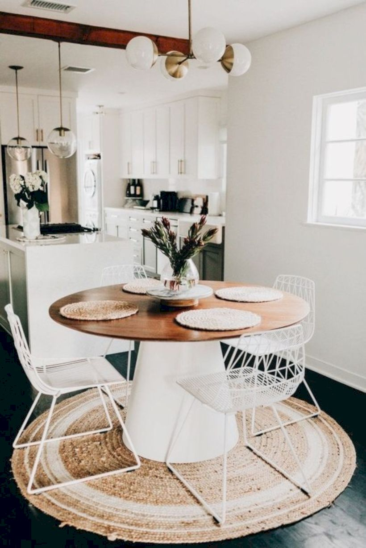 Stylish dining room design ideas 22