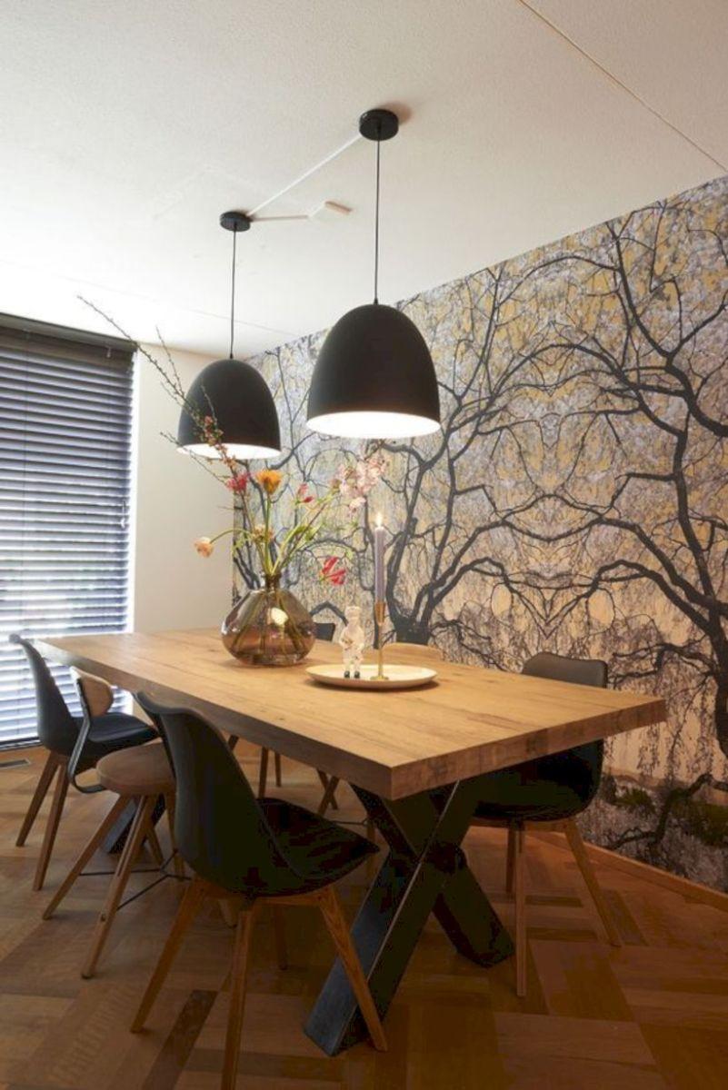 Stylish dining room design ideas 24