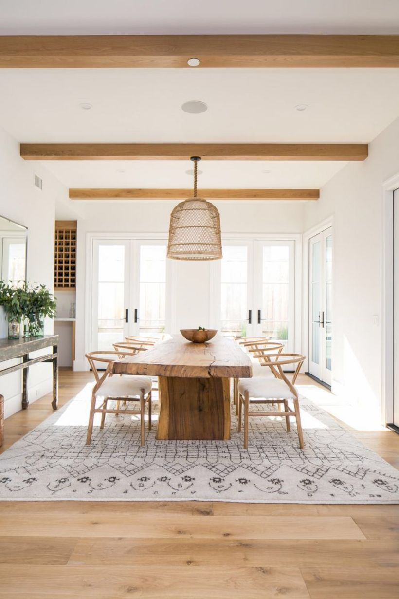 Stylish dining room design ideas 25