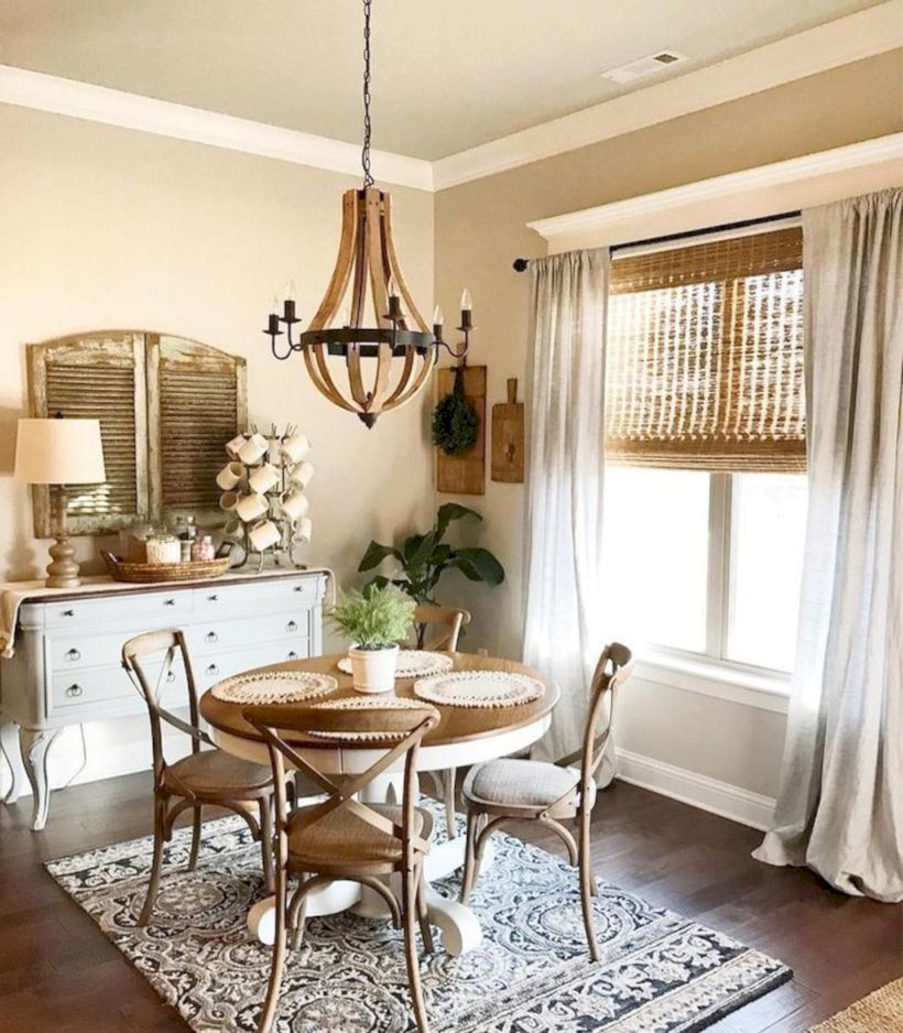 Stylish dining room design ideas 30