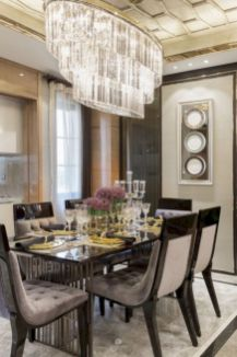 Stylish dining room design ideas 32