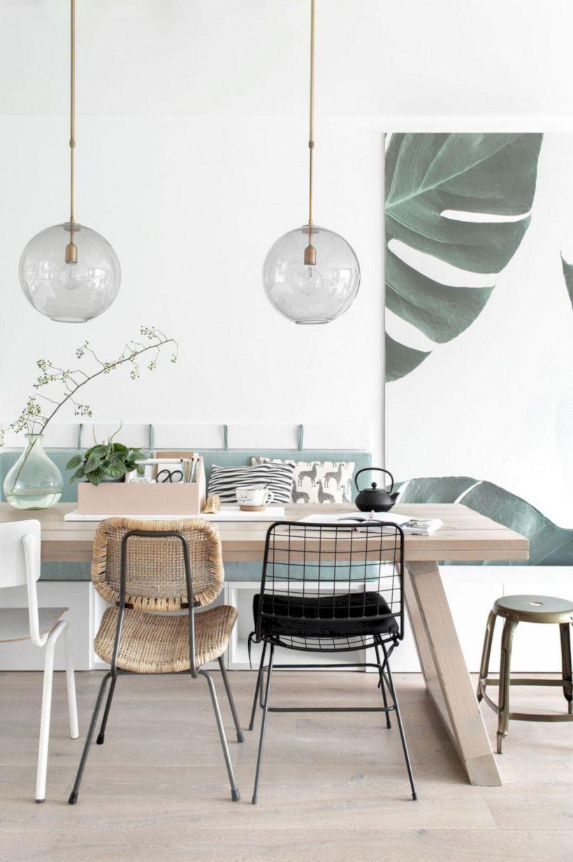 Stylish dining room design ideas 40