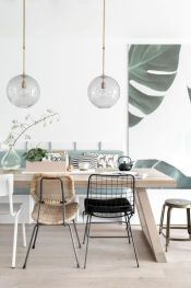 Stylish dining room design ideas 40