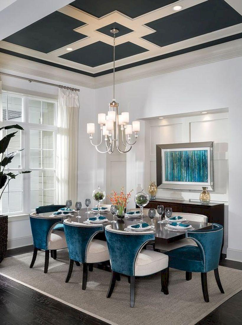 Stylish dining room design ideas 45
