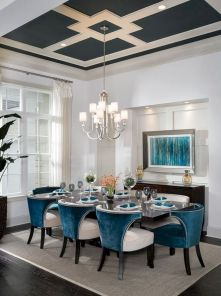 Stylish dining room design ideas 45