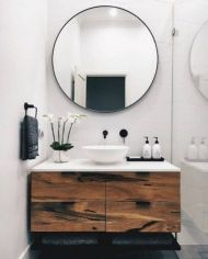 Unordinary bathroom accessories ideas 43