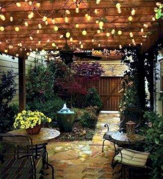 Unordinary patio designs ideas 37