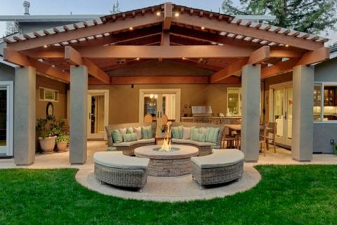 Unordinary patio designs ideas 40