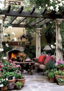 Unordinary patio designs ideas 48
