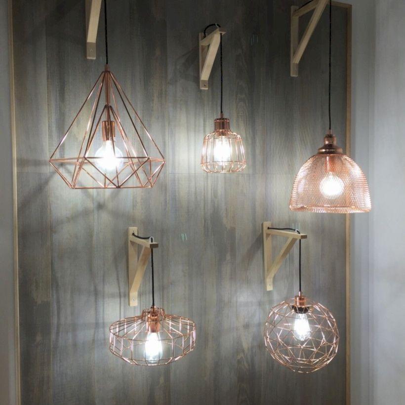Unusual copper light designs ideas 03
