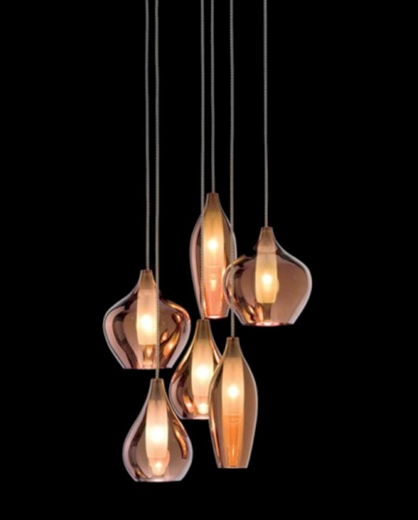 Unusual copper light designs ideas 06