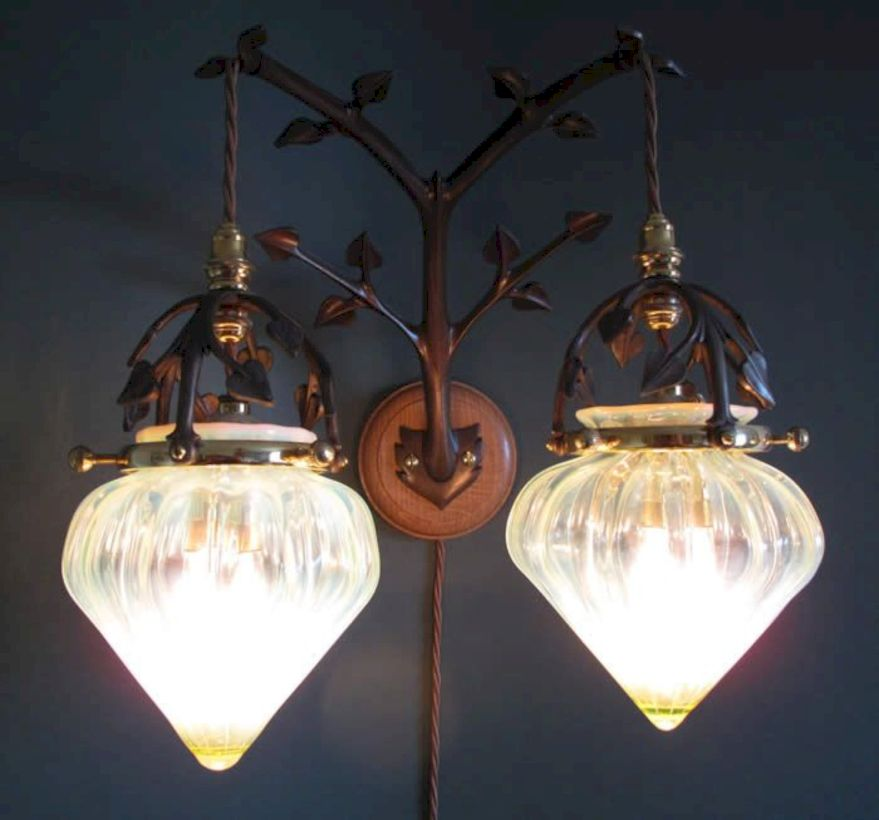 Unusual copper light designs ideas 43