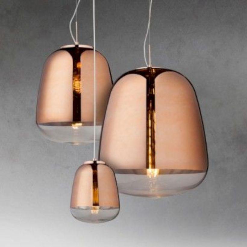 Unusual copper light designs ideas 48