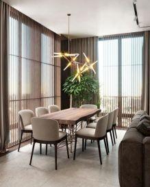 Adorable dining room tables contemporary design ideas 45