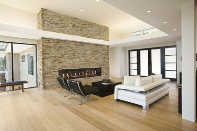 Attractive painted brick fireplaces ideas 23