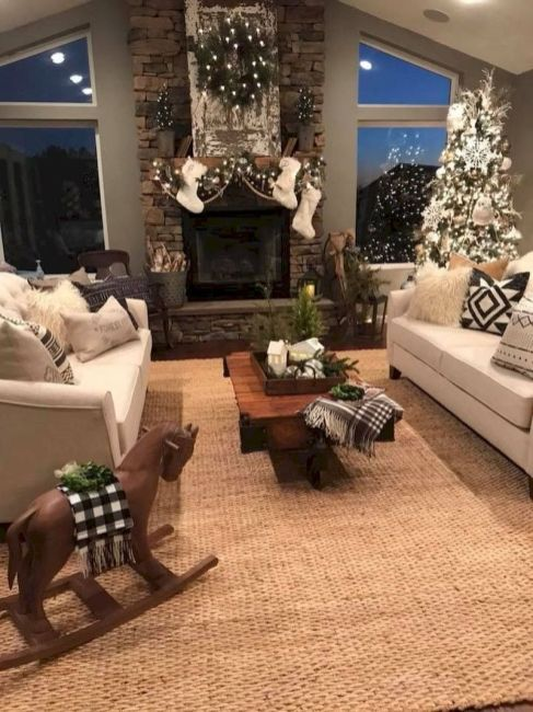 Awesome living room paint ideas by brown furniture 43